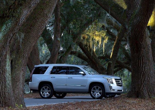 Cadillac Escalade 2016, вид сбоку