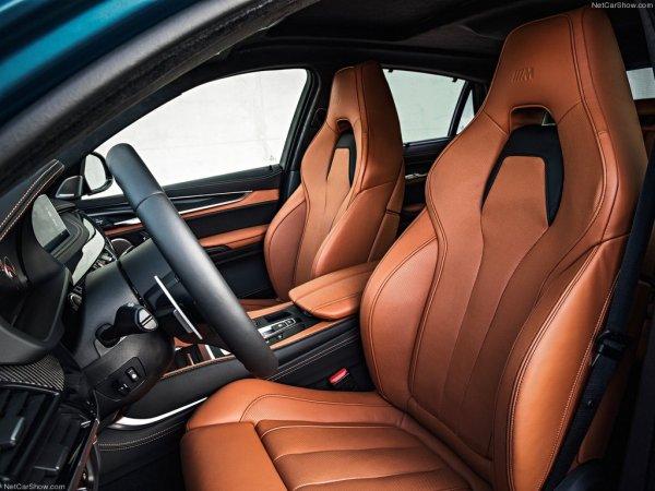 BMW X6 M 2016, передние сидения
