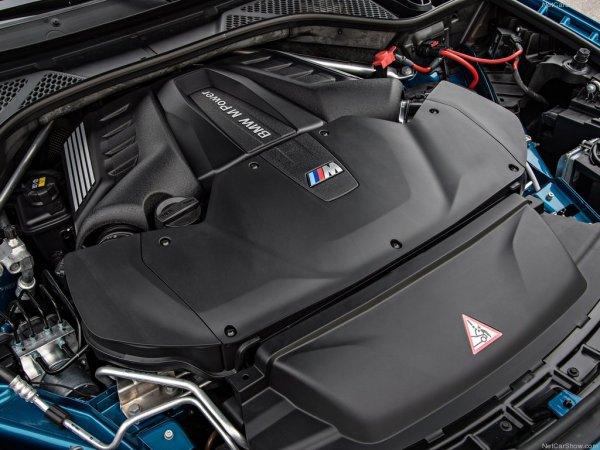 BMW X6 M 2016, двигатель