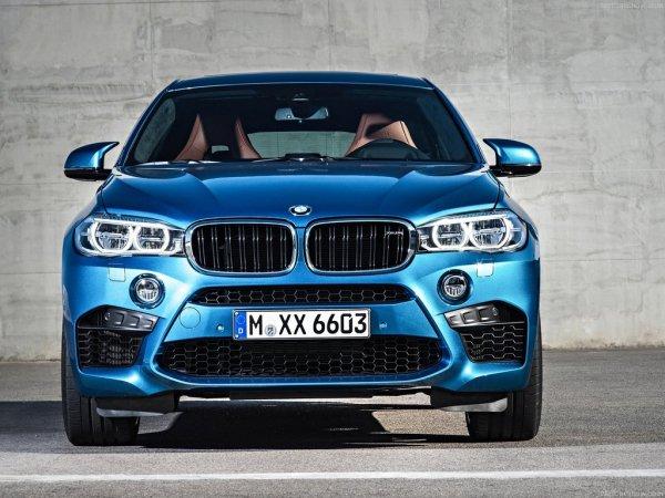 BMW X6 M 2016, вид спереди