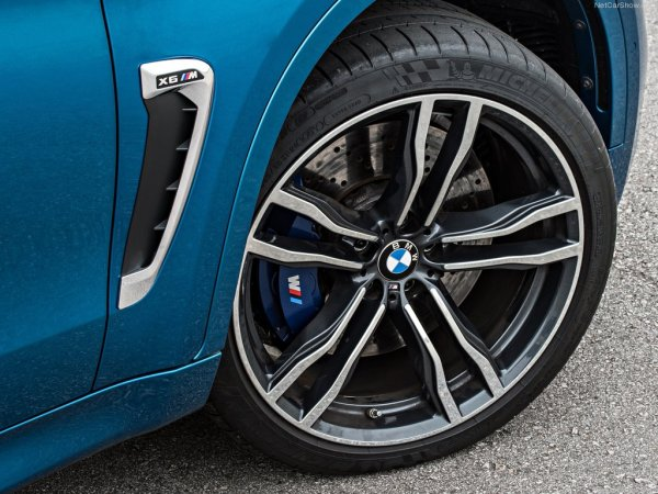BMW X6 M 2016, переднее правое колесо