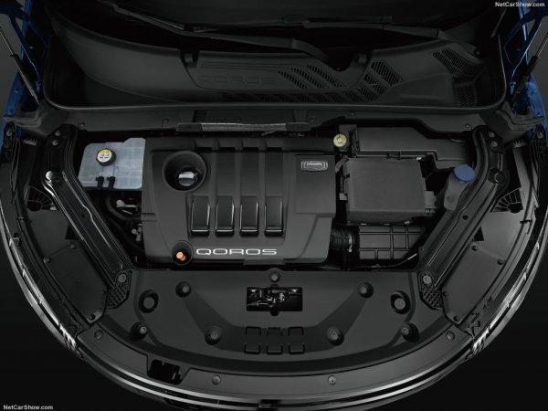 Qoros 5 SUV 2016, двигатель