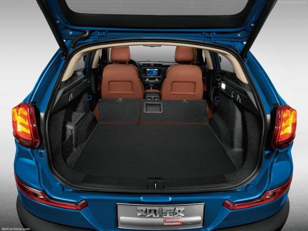 Qoros 5 SUV 2016, багажник