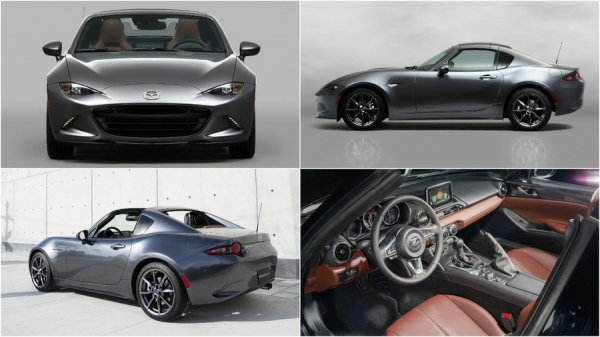Экстерьер и интерьер новой Mazda MX-5