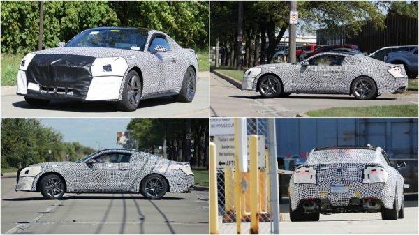 Ожидаем появление обновленного спорткара Ford Mustang
