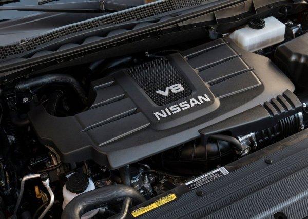 Двигатель нового Nissan Titan XD