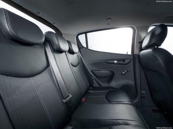 Opel Karl 2015, задние сидения