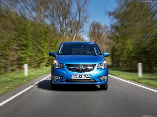 Opel Karl 2015, вид спереди