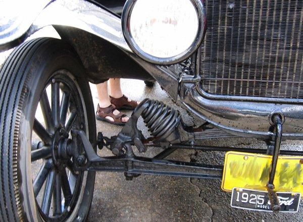 Подвеска старого Ford