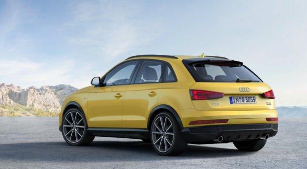 Audi Q3 quattro S line competition, вид сзади