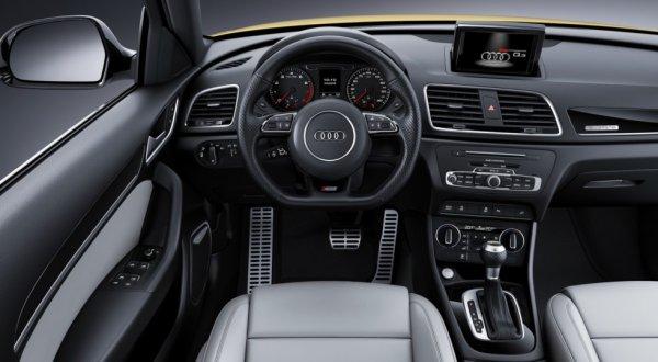 0Интерьер Audi Q3 quattro S line competition