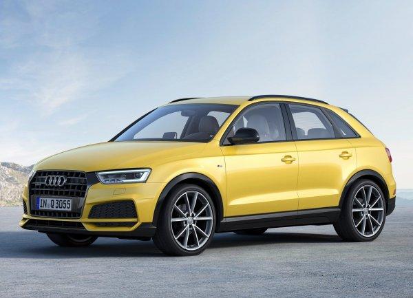 Audi Q3 S line 2017, вид сбоку