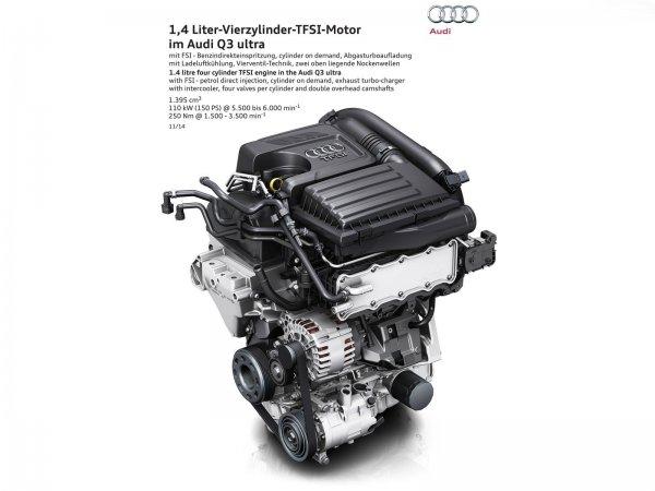 Бензиновый двигатель Audi Q3