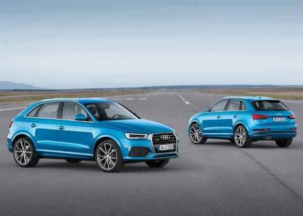 Комплектации Audi Q3
