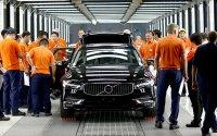 Открытие заводов Volvo в Китае