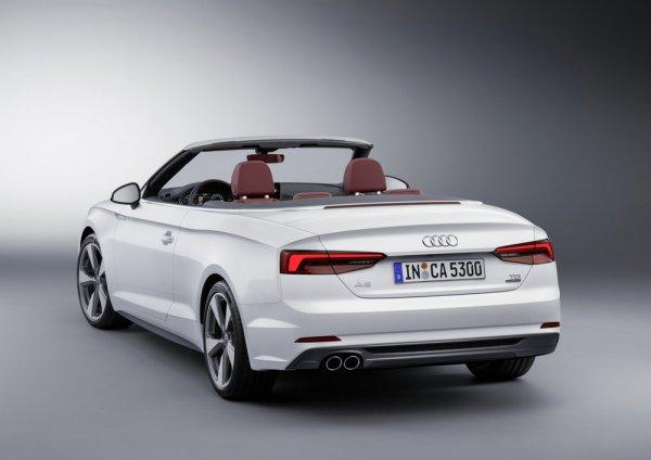Кабриолет Audi A5, вид сзади