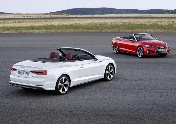 Кабриолет Audi A5 и красный S5