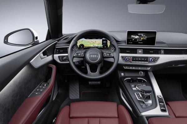 Передняя панель кабриолета Audi