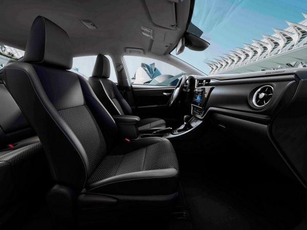 Интерьер Toyota Corolla 2017