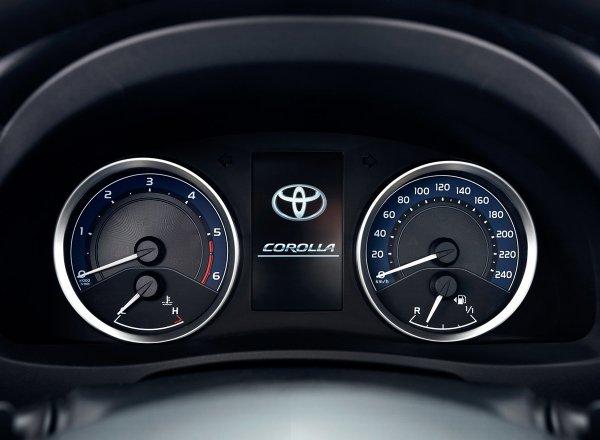 Технические характеристики Toyota Corolla 2017