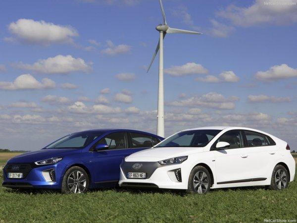 Hyundai Ioniq бережет природу