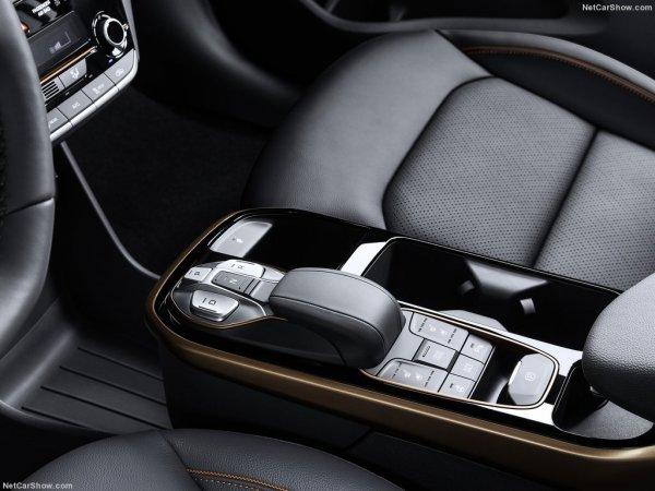 Центральная консоль Hyundai Ioniq 2016