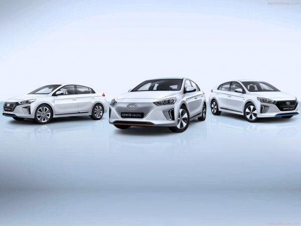 Все версии Hyundai Ioniq