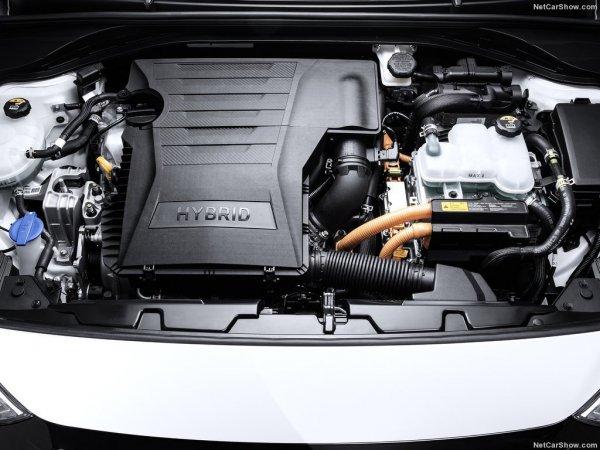 Гибридный двигатель Hyundai Ioniq 2016