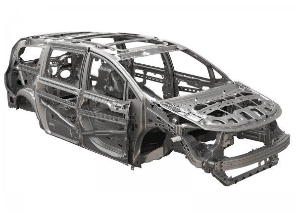 Усиленная рама Chrysler Pacifica
