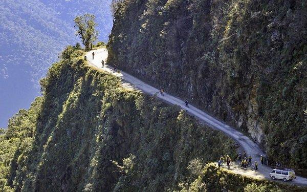 North Yungas Road. Боливия