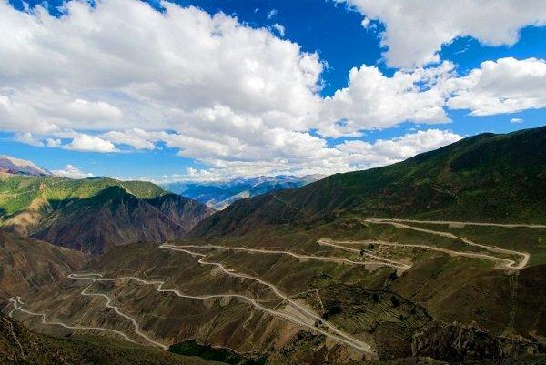 Сычуань-Тибетское шоссе, Китай
