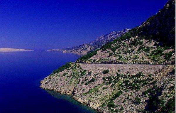 Прибрежные дороги, Хорватия