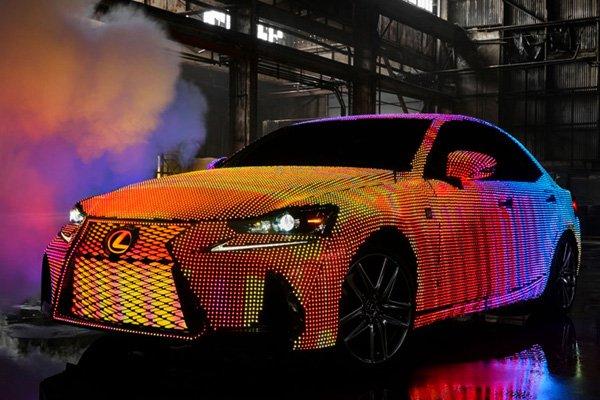 Новый Lexus IS 2017
