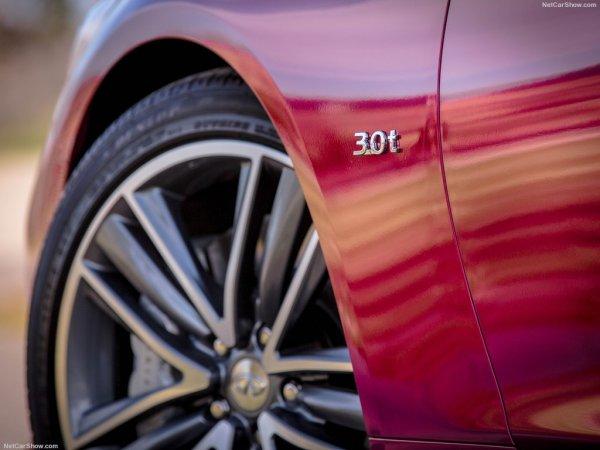 Инфинити Q50 2016 года, переднее левое колесо