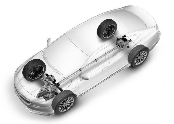 Полноприводный вариант Buick LaCrosse