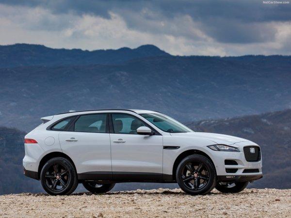 Профиль нового Jaguar F-Pace 2017