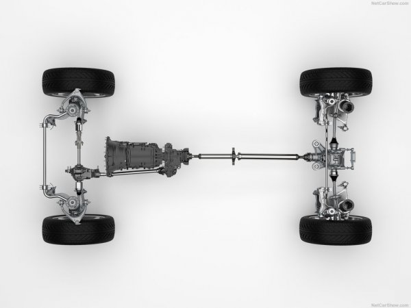Трансмиссия кроссовера Jaguar F-Pace 2017