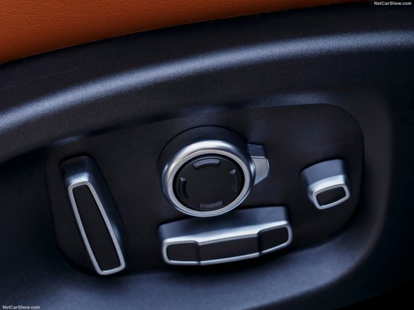 Электрорегулировки сидений на Jaguar F-Pace