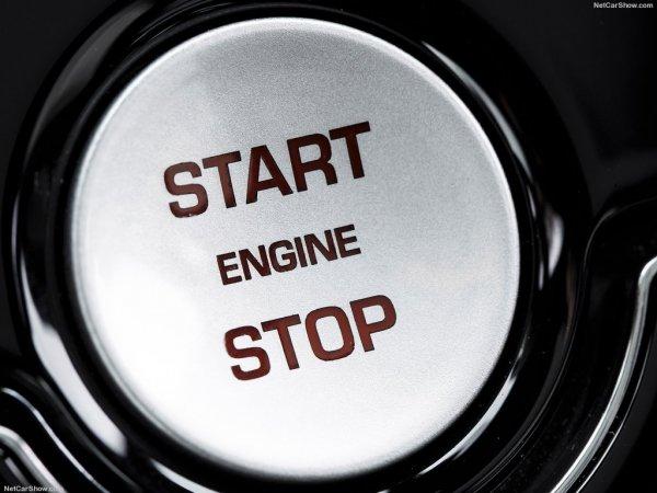 Кнопка запуска двигателя Jaguar F-Pace 2017
