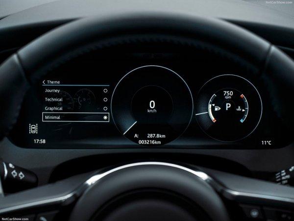 Щиток приборов Jaguar F-Pace 2017