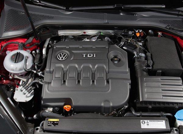 Volkswagen Golf TDi engine