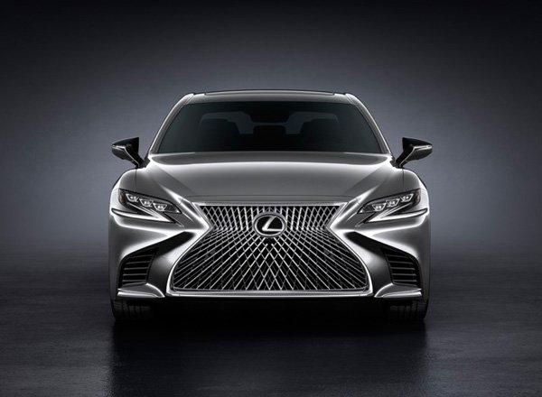 Новый седан Lexus LS 500