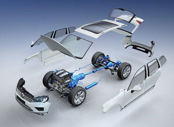Полный привод от компании Volkswagen