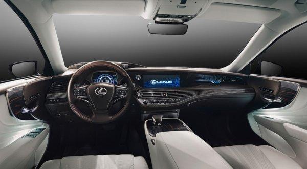 Интерьер нового поколения LS 500