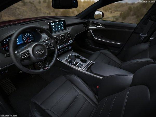 Kia Stinger 2017-2018 - фото, цена, характеристики
