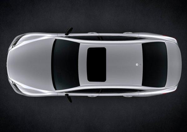 Lexus LS 500 2018, вид сверху