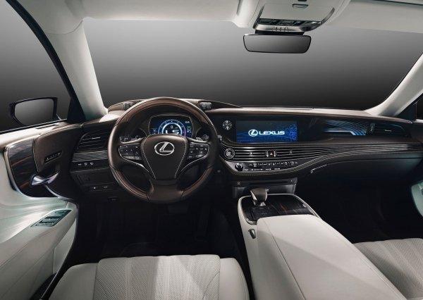 Интерьер Lexus LS 500 2018