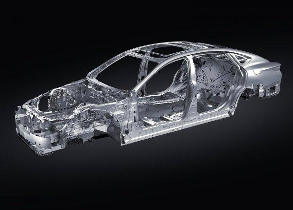 Алюминиевая рама Lexus LS 500