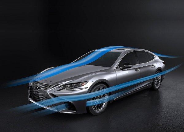 Аэродинамика нового Lexus LS 500