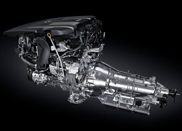 Двигатель и акпп седана LS 500